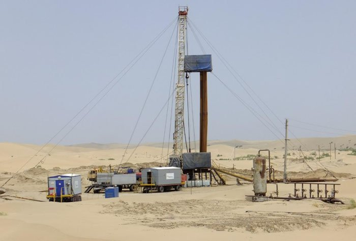 Туркменистан готов выкачать изКаспийского моря 7 млн тонн нефти