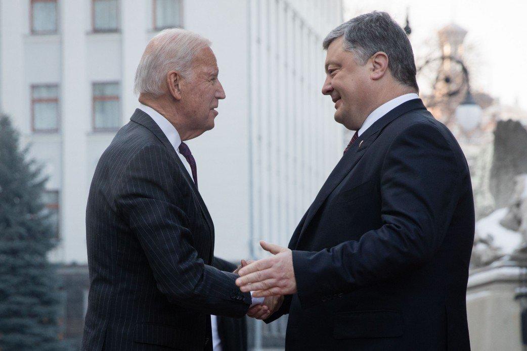 Джо Байден прилетел на Украинское государство