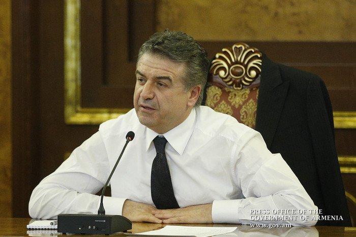 Медведев встретится сармянским коллегой Кареном Карапетяном 24января