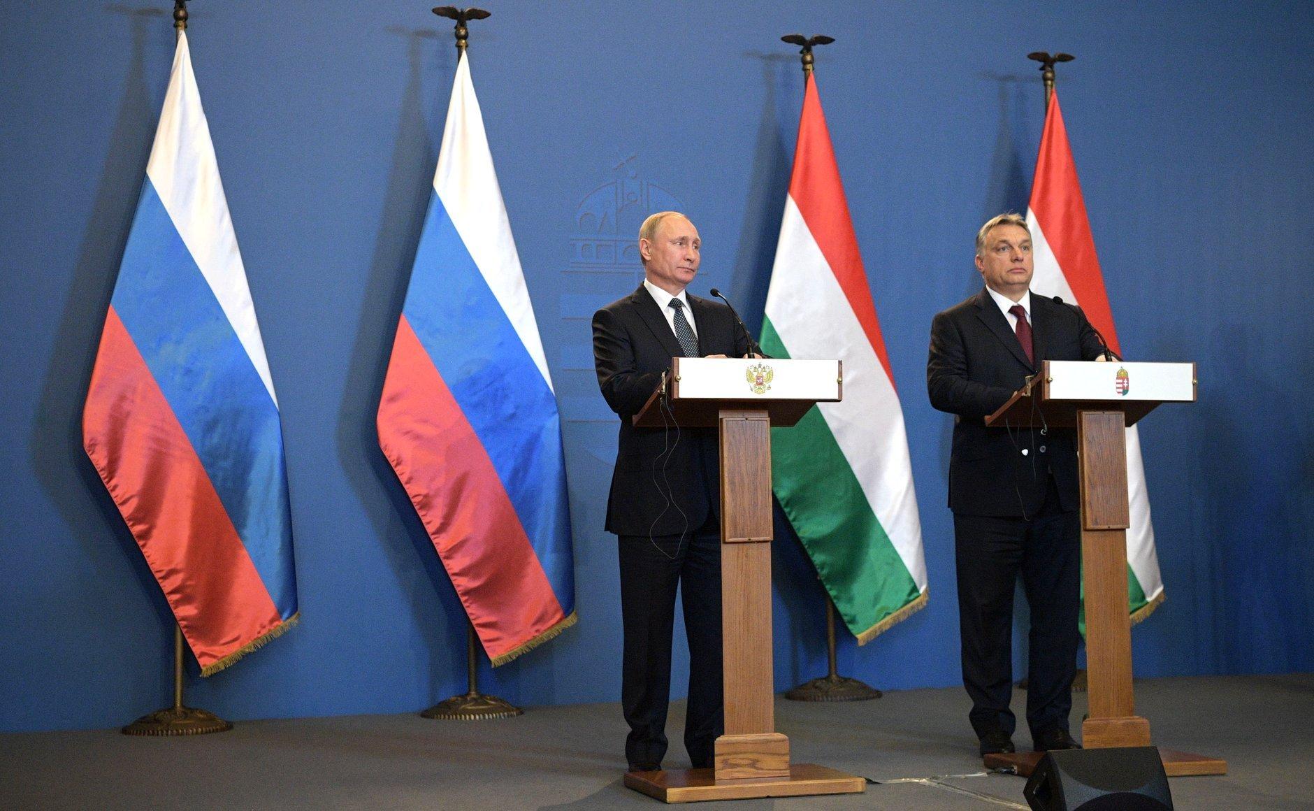 Путин: газРФ может поставляться вВенгрию разными маршрутами