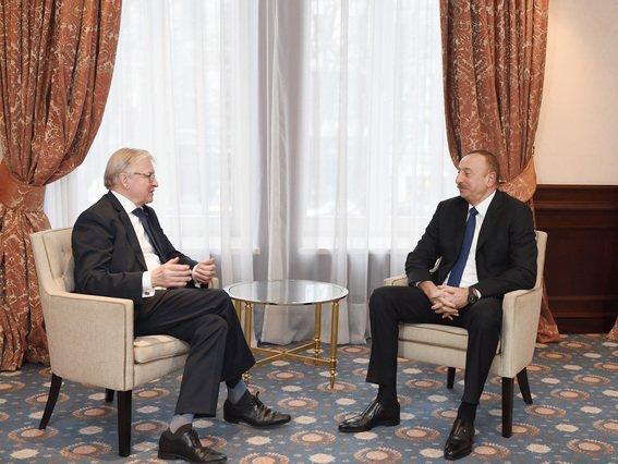 Президент Ильхам Алиев встретился сглавой Еврокомиссии