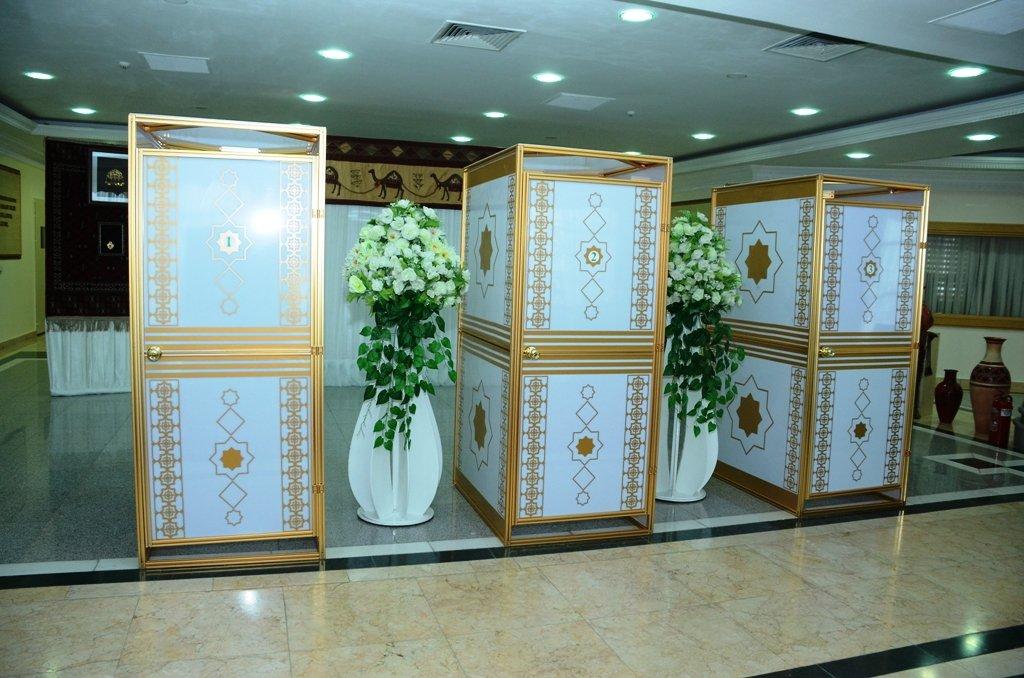ВТуркмении подведены заключительные  результаты  выборов президента