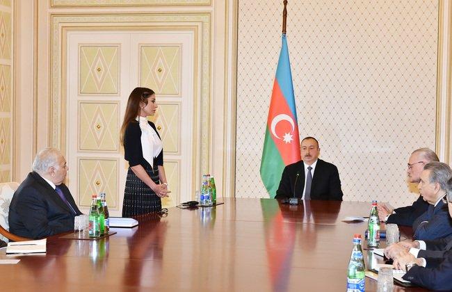 Президент Азербайджана Алиев назначил свою супругу первым вице-президентом