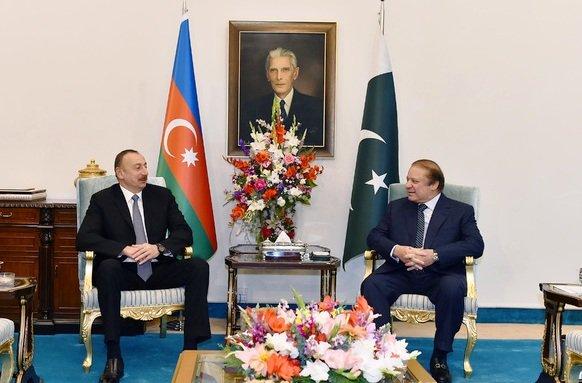 Ильхам Алиев прибыл вПакистан