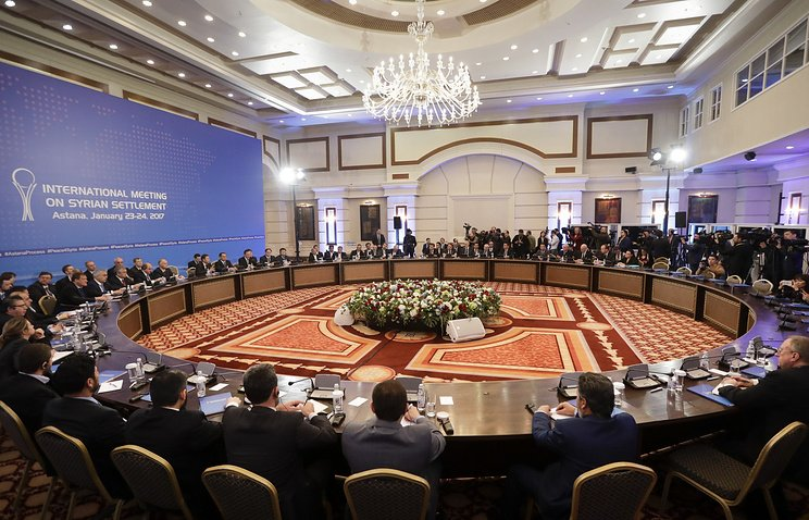 Очередные переговоры поСирии вАстане могут пройти 14