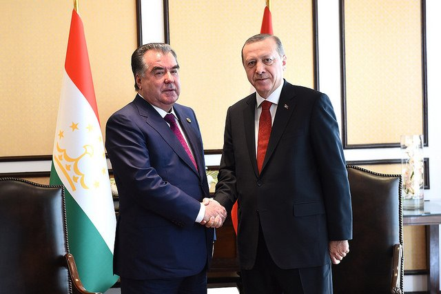Рахмон иЭрдоган договорились опроведении первого Совета сотрудничества Таджикистана иТурции