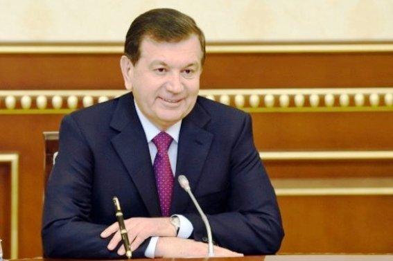 Руководителя Узбекистана иТурции обменялись поздравлениями