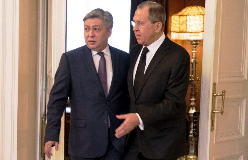 Руководителя МИД Российской Федерации иКиргизии обсудят в столице областные имеждународные угрозы