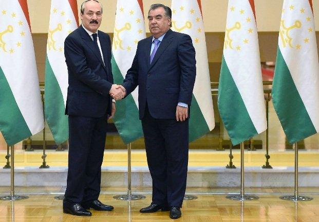 Подписано соглашение осотрудничестве между Республикой Дагестан иСогдийской областью Республики Таджикистан