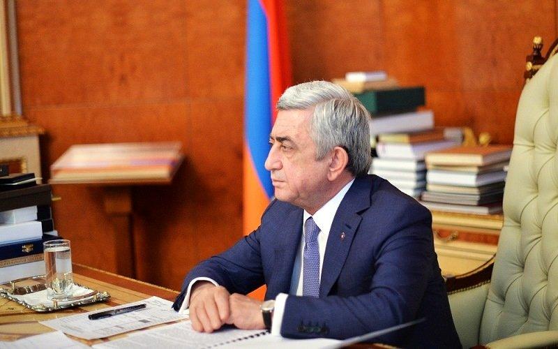 Серж Саргсян: Уровень финансовых отношений Армения— Иран несоответствует уровню политических отношений