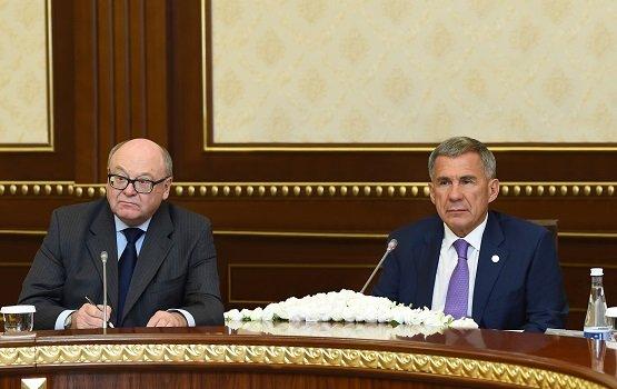Президент Татарстана ивице-премьер Узбекистана