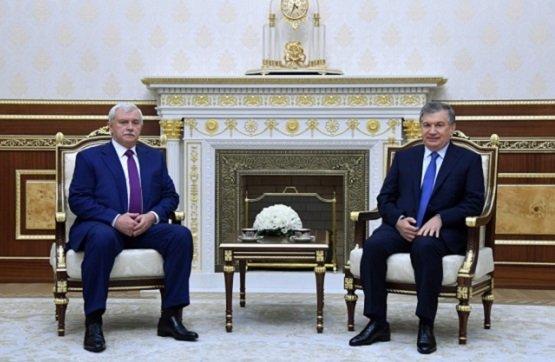 Узбекистан иСанкт-Петербург будут расширять иукреплять взаимоотношения