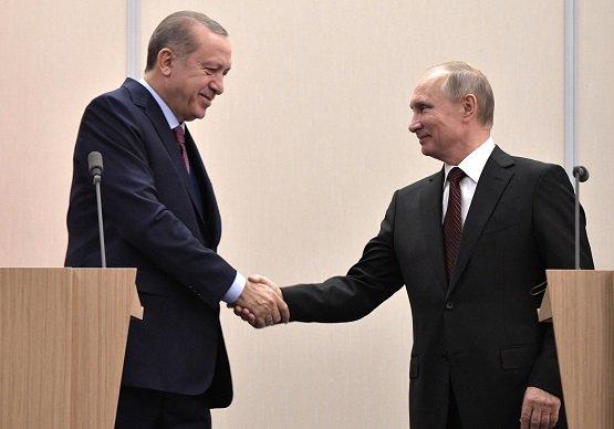 Путин 13ноября встретится вСочи спрезидентом Турции Эрдоганом