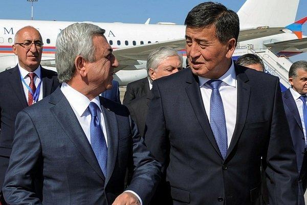 Киргизский лидер уверен в выгодном сотрудничестве с Арменией