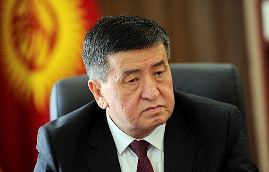 Жээнбеков прибыл софициальным визитом вТаджикистан
