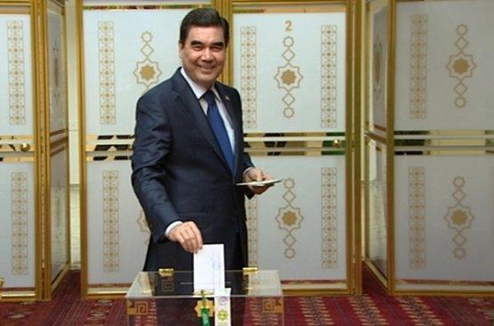 ЦИК Туркмении: явка напарламентских выборах составила 90%