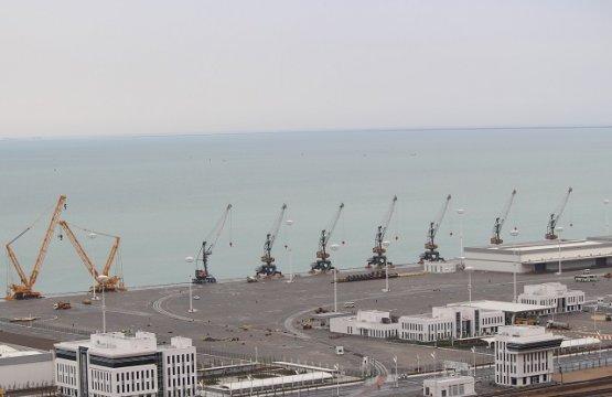 Открывшийся наКаспии морской порт Туркменистана внесли вКнигу рекордов Гиннесса